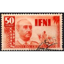 (51) Sidi Ifni. 1951. 50 Céntimos (Usado)