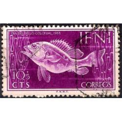 (B14) Sidi Ifni. 1953. 10 + 5 Céntimos (Usado)