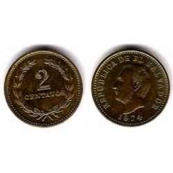 (147) El Salvador. 1974. 2 Centavos (SC)