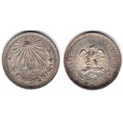 (455) Estados Unidos Mexicanos. 1944. 1 Peso (MBC) (Plata)