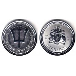 Barbados. 2019. 1 Dollar (Proof) (Plata)