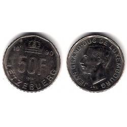 (66) Luxemburgo. 1990. 50 Francs (MBC+)