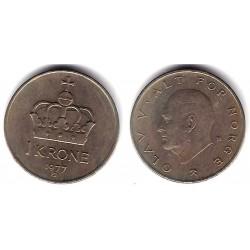(419) Noruega. 1977. 1 Krone (MBC)