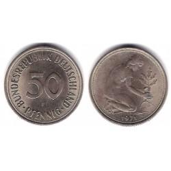 (109.1) Alemania. 1971(F). 50 Pfennig (EBC)