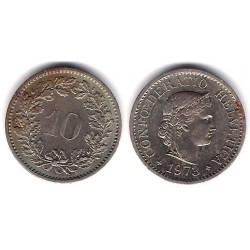 (27) Suiza. 1973. 10 Rappen (MBC-)