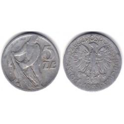 (Y47) Polonia. 1959. 5 Zlotych (BC)