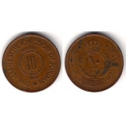 (10) Jordania. 1962. 10 Fils (BC+)