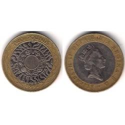 (976) Gran Bretaña. 1997. 2 Pounds (MBC)