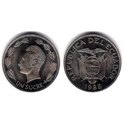 (89) Ecuador. 1988. 1 Sucre (SC)
