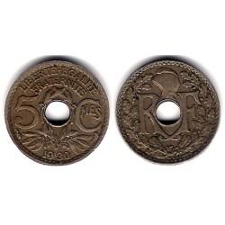(875) Francia. 1930. 5 Centimes (MBC)