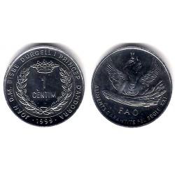 (171) Andorra. 1999. 1 Céntimo (SC)