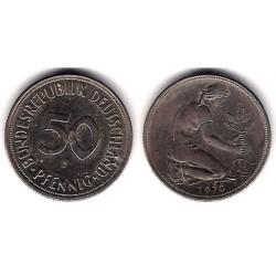 (109.1) Alemania. 1970(J). 50 Pfennig (MBC)
