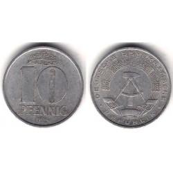 (10) Alemania Democrática. 1965(A). 10 Pfennig (BC)
