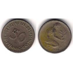 (109.1) Alemania. 1970(G). 50 Pfennig (MBC-)