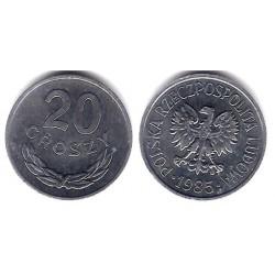 (YA47) Polonia. 1985. 20 Groszy (SC)