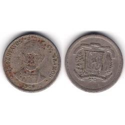 (51) República Dominicana. 1979. 25 Centavos (BC-)