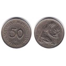 (109.1) Alemania. 1975(J). 50 Pfennig (MBC)
