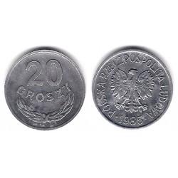 (YA47) Polonia. 1985. 20 Groszy (EBC+)