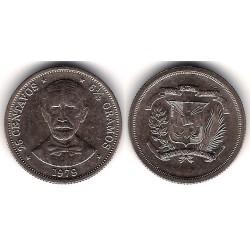(51) República Dominicana. 1979. 25 Centavos (MBC)