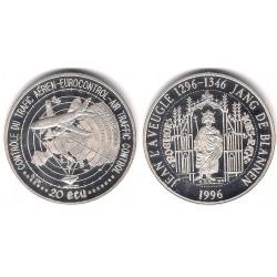 Luxemburgo. 1996. 20 Ecu (Proof) (Plata)
