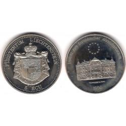 Liechtenstein. 1995. 5 Ecu (Proof)