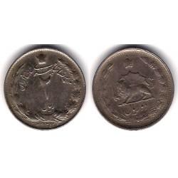 (1173) Irán. 1957. 2 Rials (MBC)
