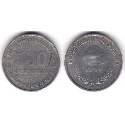 (63) Nicaragua. 1987. 500 Cordobas (BC)