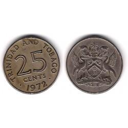 (4) Trinidad y Tobago. 1972. 25 Cents (MBC)
