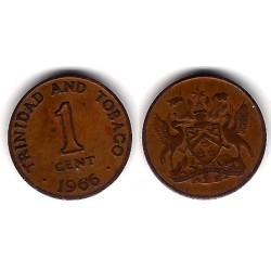 (1) Trinidad y Tobago. 1966. 1 Cent (BC+)