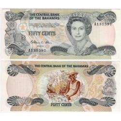 (42a) Bahamas. 1984. 50 Cents (SC)