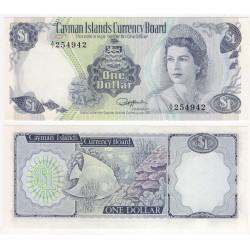 (5f) Islas Caimán. 1974. 1 Dollar (SC)