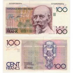 (142a) Bélgica. 1982-94. 100 Francs (SC)