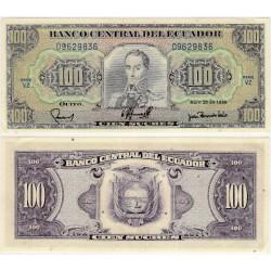 (123) Ecuador. 1990. 100 Sucres (SC)