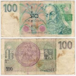 (5) República Checa. 1993. 100 Korun (BC)