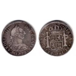 Carlos III. 1778. 4 Reales (MBC) (Plata) Ceca de Mejico FF