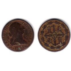 Carlos III. 1779. 4 Maravedi (RC+) Ceca de Segovia