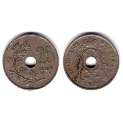 (69) Bélgica. 1922. 25 Centimes (BC)
