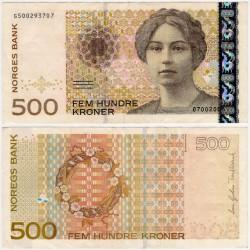 (57e) Noruega. 2008. 500 Kroner (EBC)