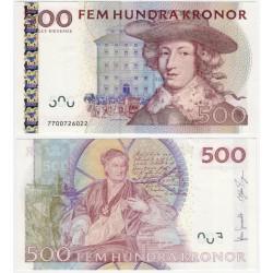 (66c) Suecia. 2007. 500 Kronor (EBC)