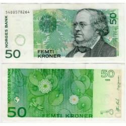 (46a) Noruega. 1996. 50 Kroner (EBC)