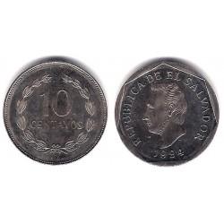 (155a) El Salvador. 1994. 10 Centavos (EBC)