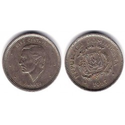 (60) República Dominicana. 1987. 10 Centavos (MBC)
