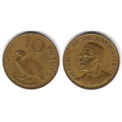 (10) Gambia. 1971. 10 Bututs (MBC)