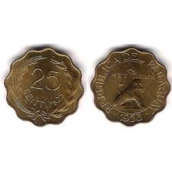 (27) Paraguay. 1953. 25 Céntimos (EBC+)