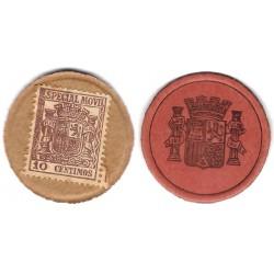 España (II República). 1937. 10 Céntimos (SC)