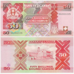 (30c) Uganda. 1998. 50 Shillings (SC)