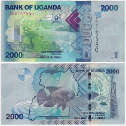 (50a) Uganda. 2010. 2000 Schillings (SC)