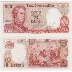 (148) Chile. 1967-75. 10000 Escudos (SC)