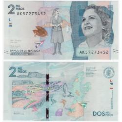 (458d) Colombia. 2018. 2000 Pesos (SC)