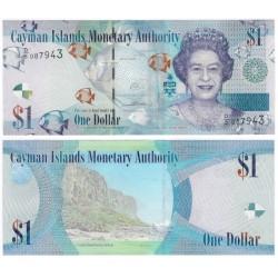 (38d) Islas Caimán. 2014. 1 Dollar (SC)